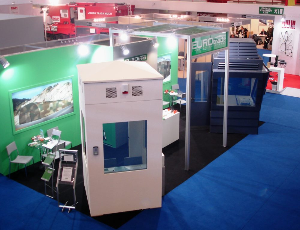 2010 DEFENSYS EXHIBITION STAND EUROTRADE SA 002