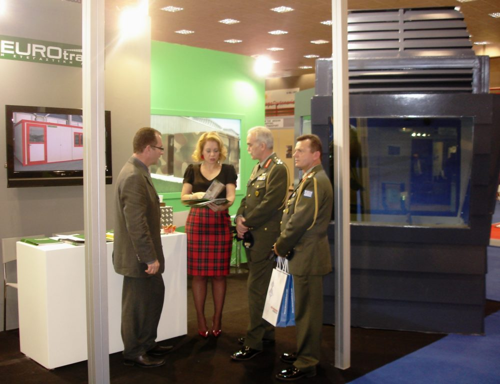 2010 DEFENSYS EXHIBITION STAND EUROTRADE SA 004