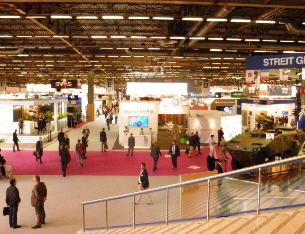 2014 EUROSATORY PARIS EXHIBITION STAND EUROTRADE SA 005