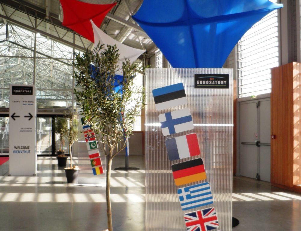 2014 EUROSATORY PARIS EXHIBITION STAND EUROTRADE SA 006