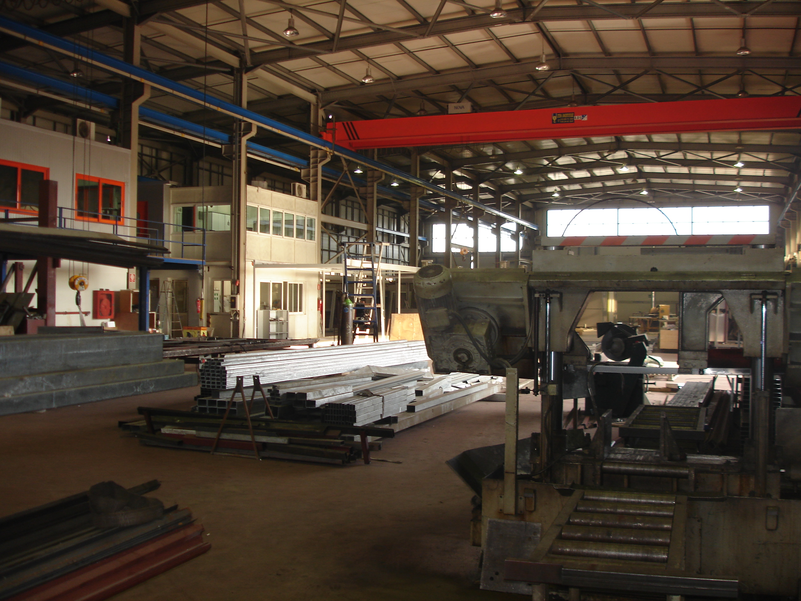 EUROtrade S.A. Inner view Factory