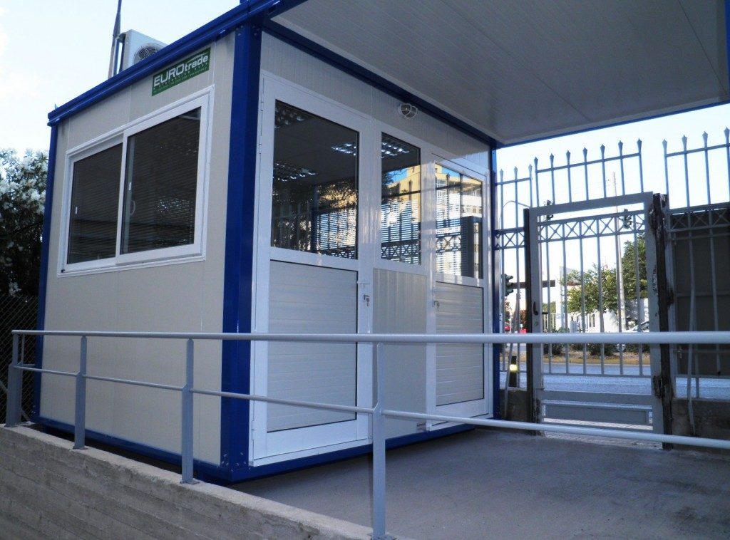 EUROtrade SA Asylum Authority Guard Cabins 003