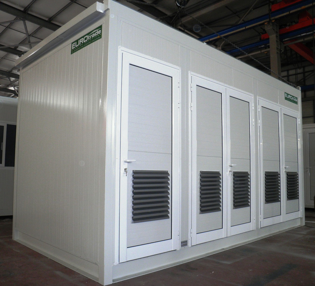Heavy Equipment Shelters : Heavy duty equipment shelters by eurotrade s a