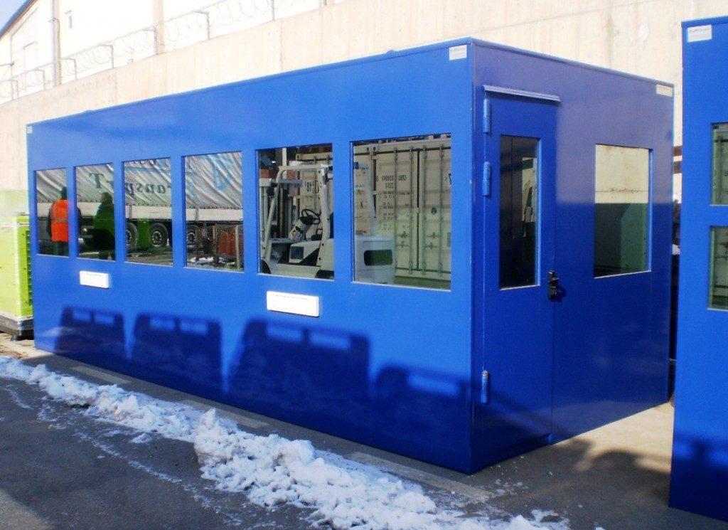 EUROtrade SA Eulex Kosovo Bulletproof Cabins and Check Points 008