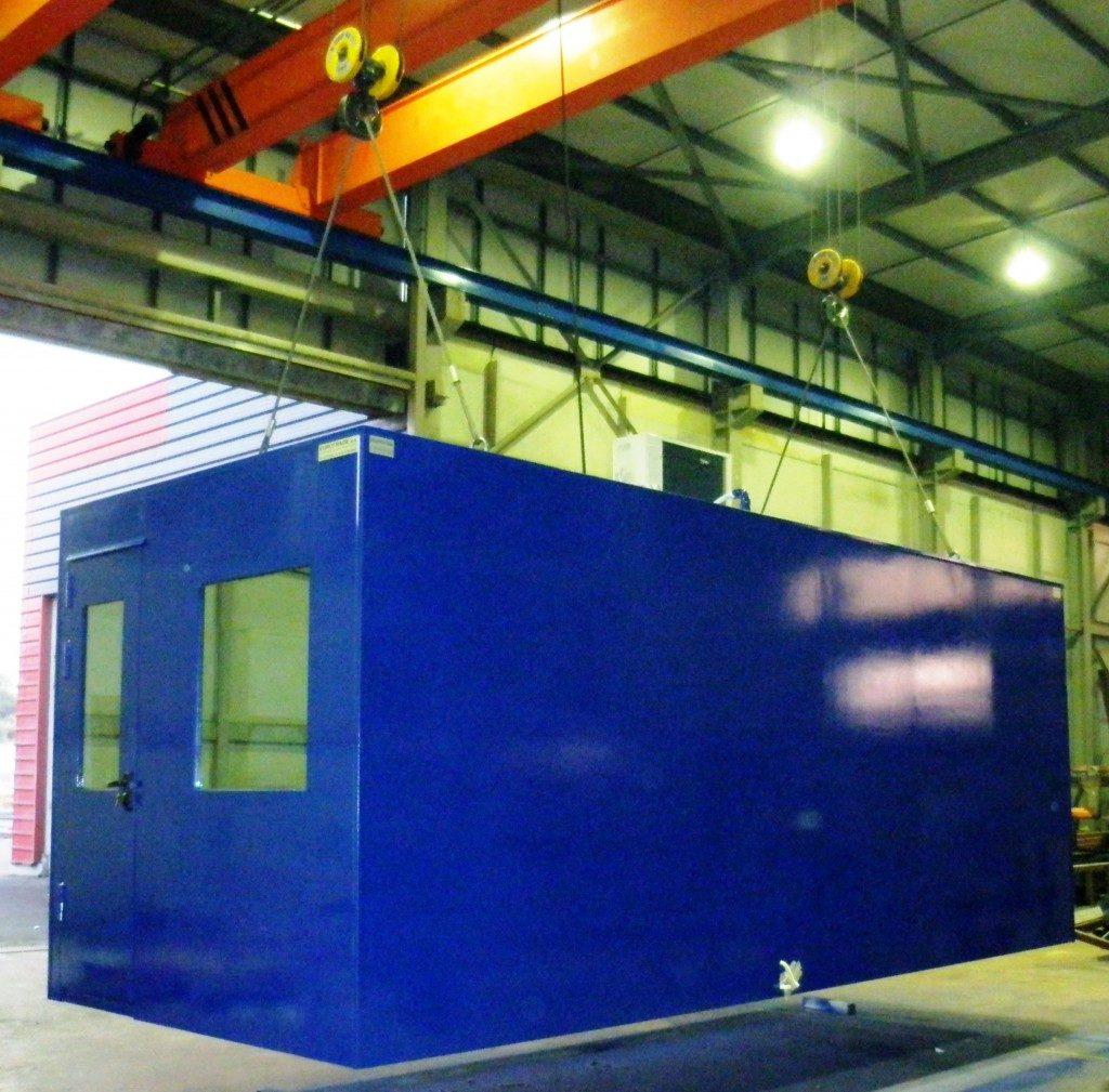 EUROtrade SA Eulex Kosovo Bulletproof Cabins and Check Points 011