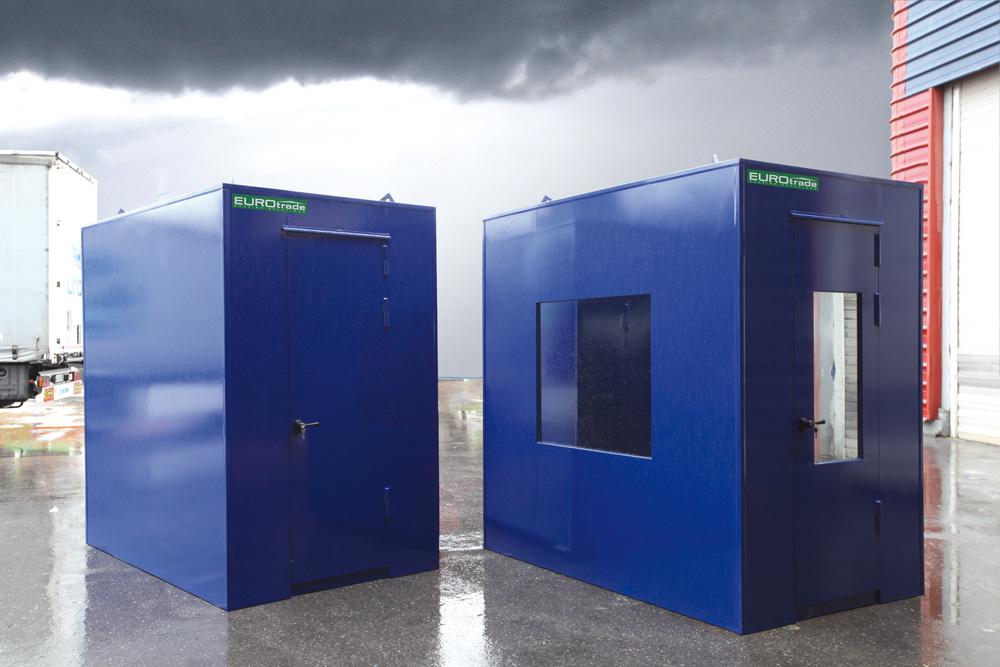 EUROtrade SA Eulex Kosovo Bulletproof Cabins and Check Points 013