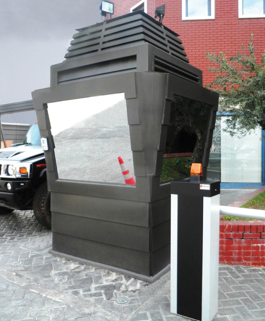 EUROtrade SA Private Sector Titans Bulletproof Sentry Box Gate of Petroleum Industry Offices 001