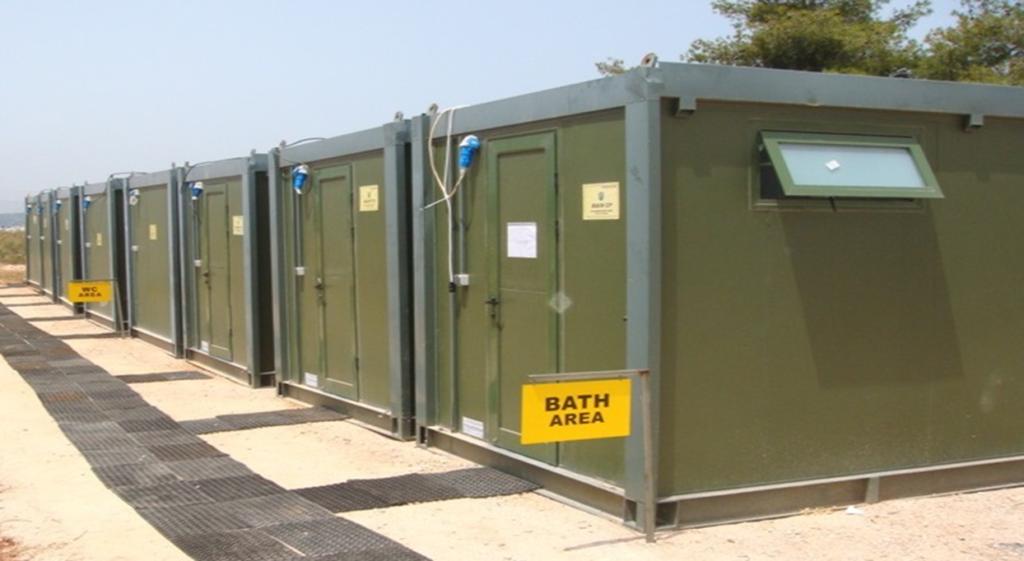 Nato Sanitary Units by EUROtrade SA 002